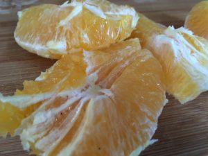 Orange für Schmoothie