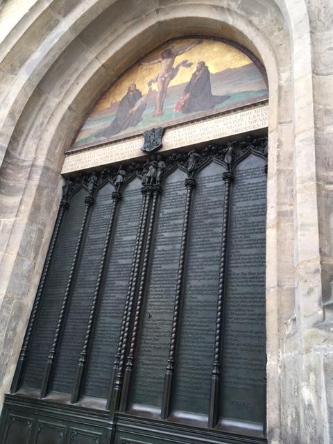 Luther Schlosskirche Liebe zur Wahrheit