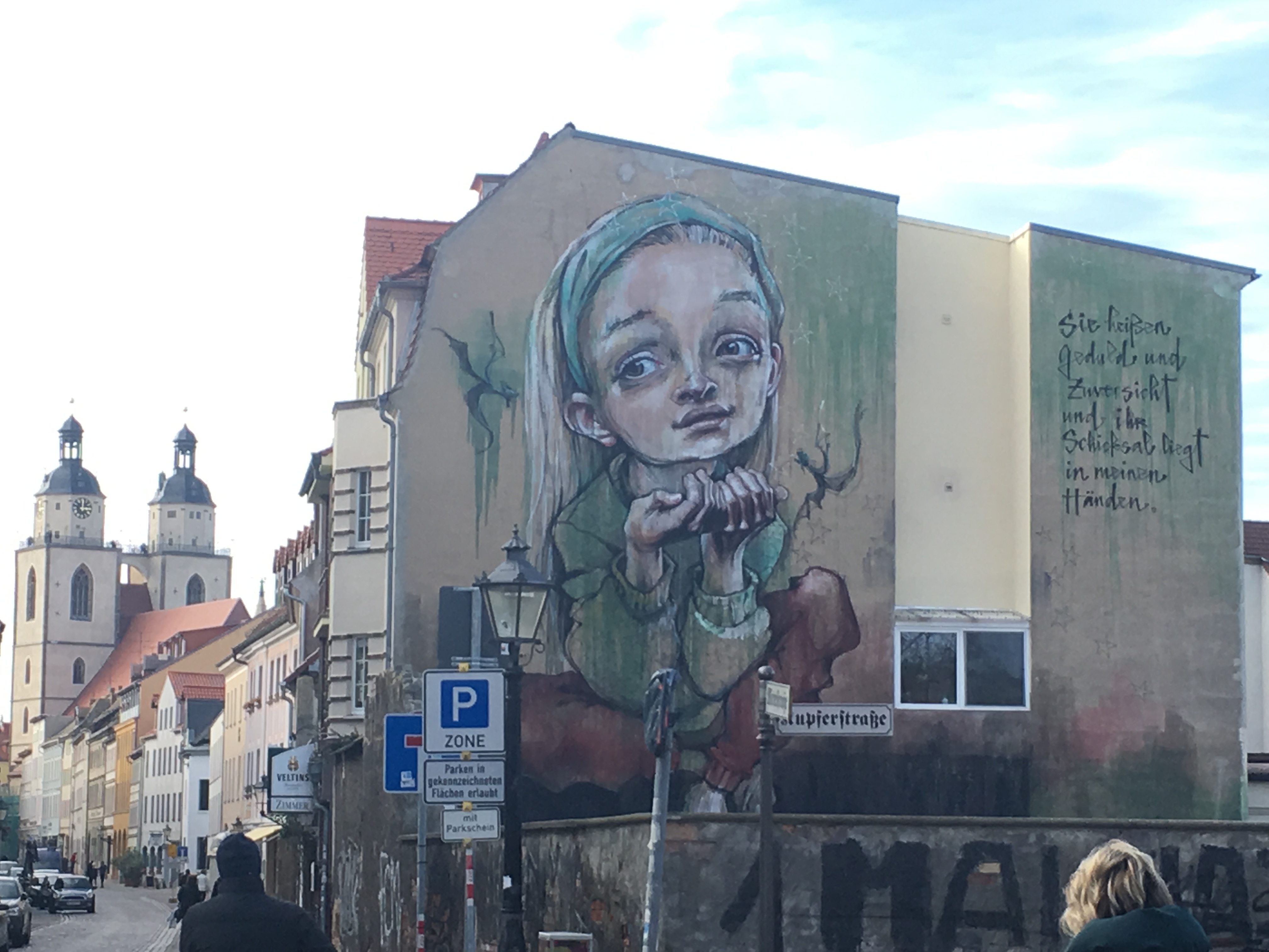 Lutherstadt Wittenberg die Wahrheit an der Wand